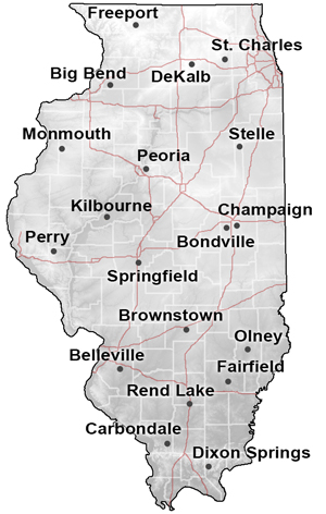 Illinois Climate Network Soil Data Clearinghouse Isgs Illinois Edu