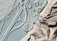 Digital Terrain Model (DTM) image for comparison