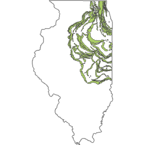 Moraines (End Moraines) of the Wisconsin Episode