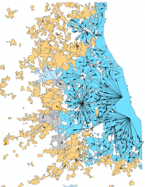 Illinois Municipal Water Use in 2012