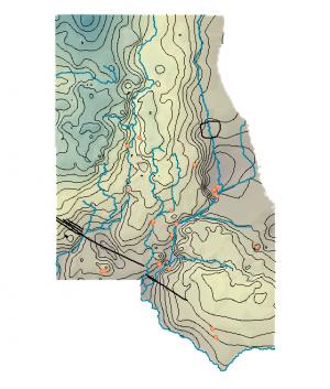 Northeast Illinois Shallow Bedrock Potentiometric Surface